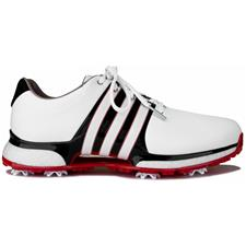 Adidas Cloud White-Core Black-Scarlet Tour360 XT Golf Shoes