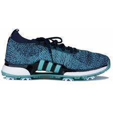 Adidas Legend Ink-Blue Spirit-Silver Metallic Tour360 XT Primeknit Parley Golf Shoe