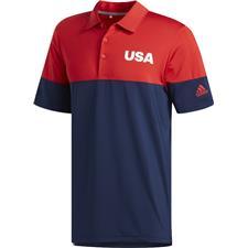 Adidas Medium USA Ultimate 2.0 All Day Novelty Polo