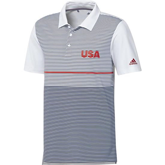 Adidas Men's USA Ultimate Color Block Polo