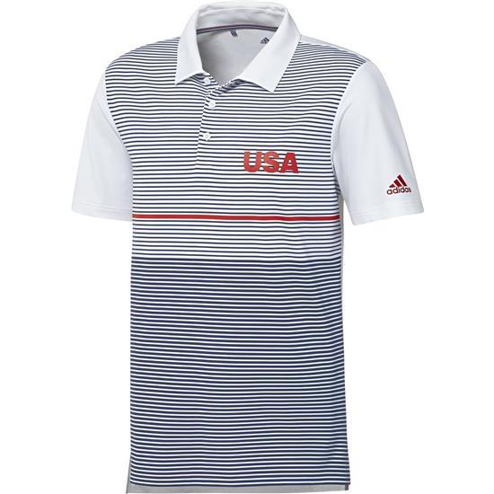 Adidas Men's USA Ultimate Color Block Polo
