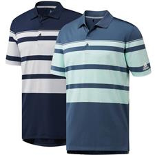 Adidas Men's Ultimate 365 Engineered Stripe Polo