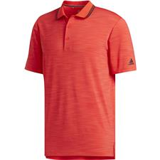 Adidas Hi Res Red-Black Ultimate 365 Heather Polo