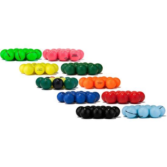 Blank Colored Logo Overrun Golf Balls