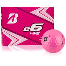 Bridgestone e6 Lady Pink Monogram Golf Balls