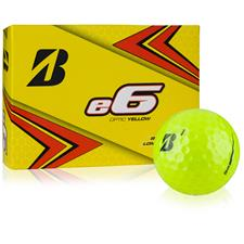 Bridgestone e6 Yellow Monogram Golf Balls