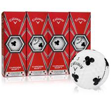 Callaway Golf Chrome Soft Truvis Clubs Golf Balls