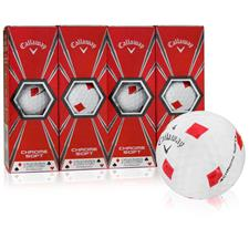Callaway Golf Chrome Soft Truvis Diamonds Golf Balls