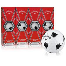 Callaway Golf Chrome Soft Truvis Spades Golf Balls