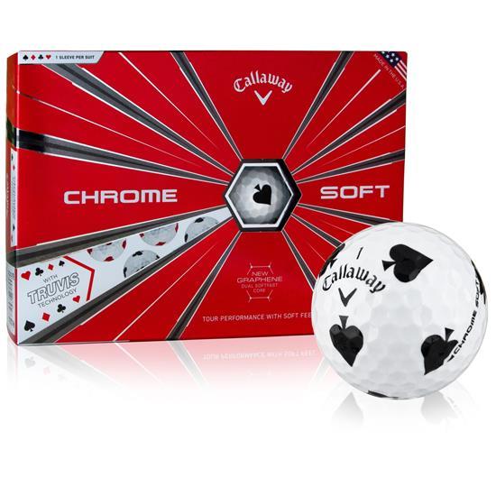 Callaway Golf Chrome Soft Truvis Suits Golf Balls