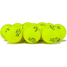 Callaway Golf Logo Overrun Supersoft Yellow Golf Balls