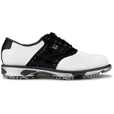 FootJoy White-Black Croc Print DryJoys Tour Golf Shoes