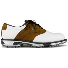 FootJoy White-Bomber Taupe DryJoys Tour Golf Shoes