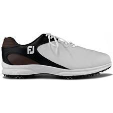 FootJoy White-Black-Brown FJ Arc XT Golf Shoes