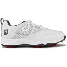 FootJoy White-Silver Fury Golf Shoe for Juniors
