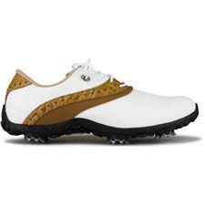 FootJoy White-Tan LoPro Collection Golf Shoes for Women