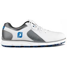 FootJoy White-Grey-Light Blue Pro/SL Previous Season Golf Shoes