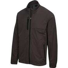 Greg Norman Men's Long Sleeve Full Zip Heathered Weatherknit Jacket