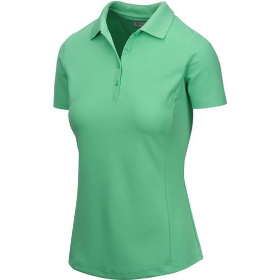 Greg Norman Short Sleeve Protek Micro Pique Polo for Women