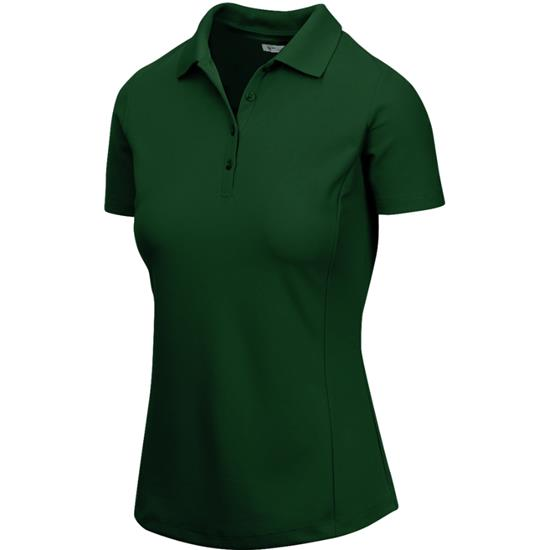 Greg Norman Short Sleeve Protek Micro Pique Polo for Women