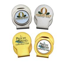 Logo Golf Custom Slider Clip