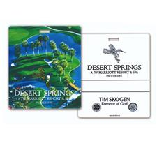 Logo Golf Photo Resort Bag Tag