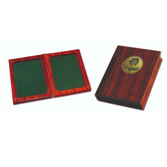 Logo Golf Rosewood Hinged Book Box