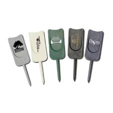 Logo Golf Single Prong Plastic Divot Tool
