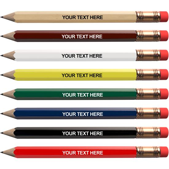 Logo Personalized Golf Pencils