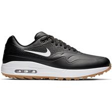 Nike Black-White-Gum Light Brown Air Max 1G Golf Shoes