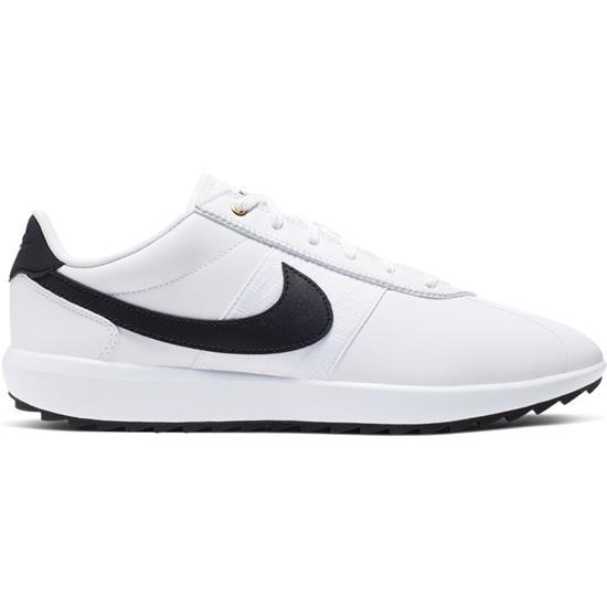 tani klasyczny największa zniżka Cortez G Golf Shoes for Women - White-Black-Metallic Gold - 10 1/2 Medium
