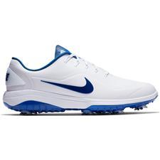 Nike White-Indigo Force-White React Vapor 2 Golf Shoes