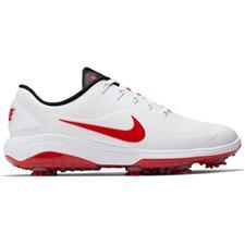 Nike White-University Red-White React Vapor 2 Golf Shoes