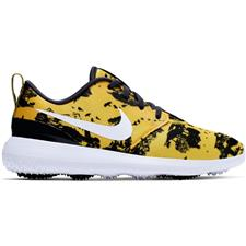 Nike Dark Sulfur-White-Gridiron Roshe G Golf Shoes for Women