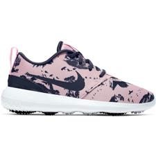 Nike Echo Pink-Gridiron-White-White Roshe G Golf Shoes for Women