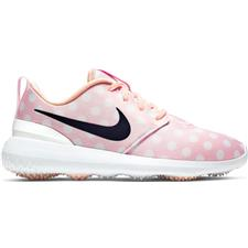 Nike Echo Pink-Gridiron-White Roshe G Junior Golf Shoes