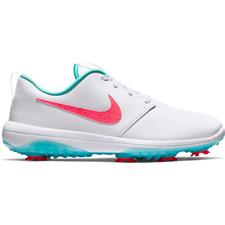 Nike White-Hot Punch-Aurora Green Roshe G Tour Golf Shoes