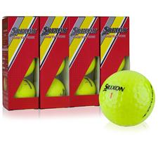 Srixon Custom Logo Distance Yellow Golf Balls