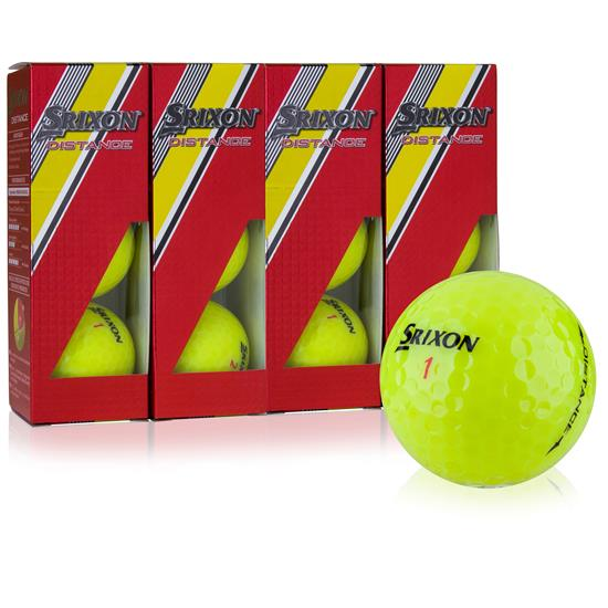 Srixon Distance Yellow Golf Balls