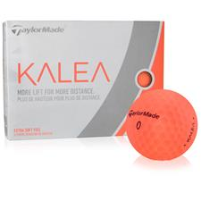 Taylor Made Custom Logo Kalea Peach Golf Balls for Women