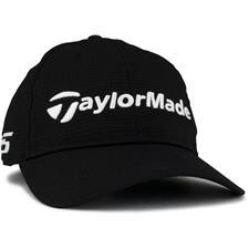 Taylor Made Men's LiteTech Tour Golf Hat - Black
