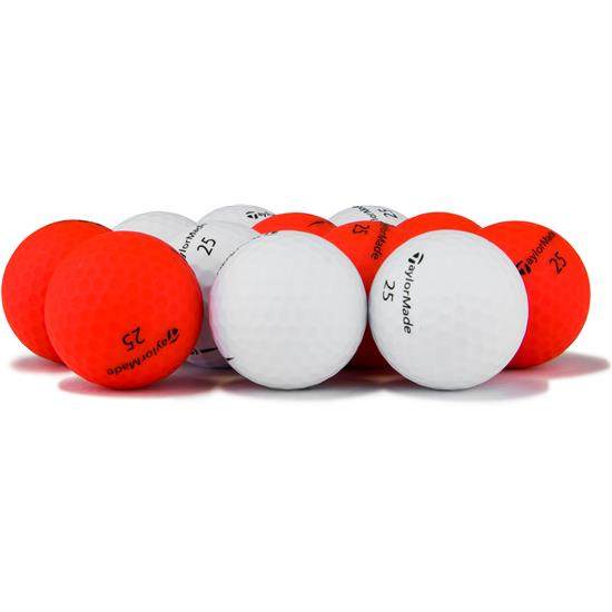 Taylor Made Project (s) Mixed Color Logo Overrun Golf Balls