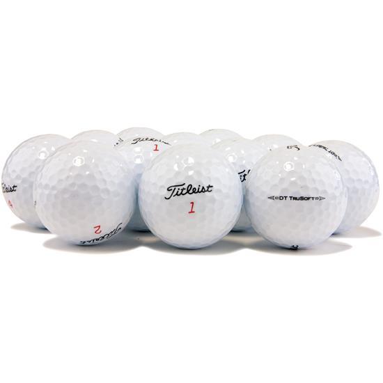 Titleist DT TruSoft Logo Overrun Golf Balls