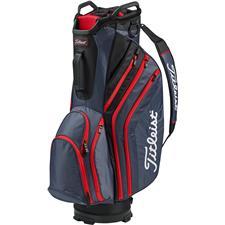 Titleist Lightweight Cart Bag - Charcoal-Black-Red