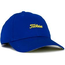 Titleist Men's Nantucket Golf Hat - Royal-Yellow