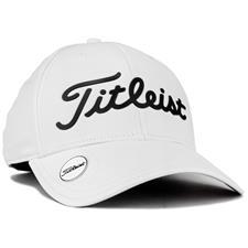 Titleist Men's Performance Ball Marker Personalized Golf Hat - White-Black