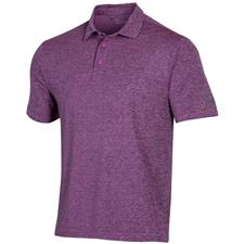 Under Armour Optic Purple Playoff 2.0 Heather Polo