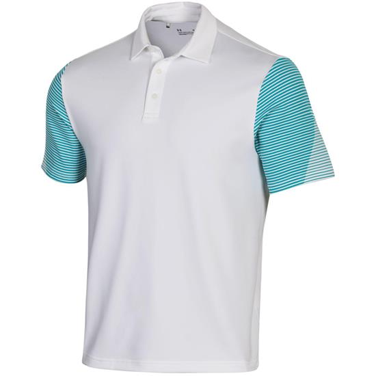 Under Armour Men's Playoff 2.0 Sleeve Graphic Polo