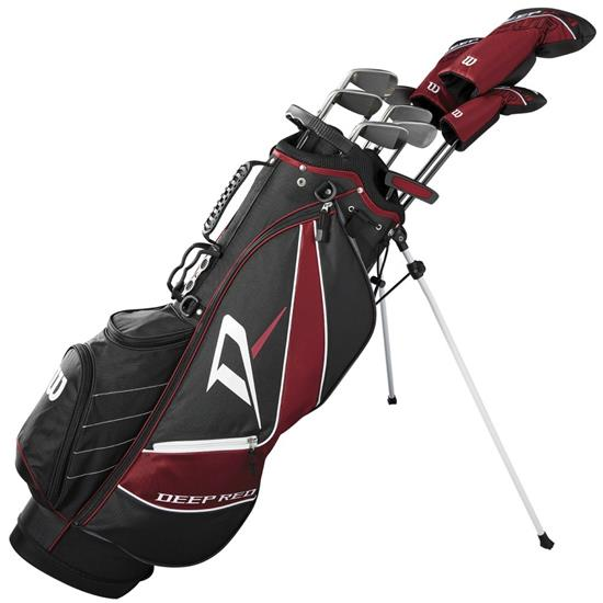 Wilson Deep Red Tour Carry Complete Club Set