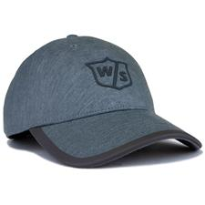 Wilson Staff Men's One Touch Personalized Hat - Ash Light Grey